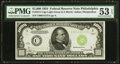 Small Size:Federal Reserve Notes, Fr. 2211-C $1,000 1934 Light Green Seal Federal Reserve Note. PMG About Uncirculated 53 EPQ.. ...