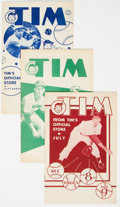 Golden Age (1938-1955):Miscellaneous, Tim Group of 4 (Tim Stores, 1950) Condition: Average FN.... (Total: 4 Comic Books)