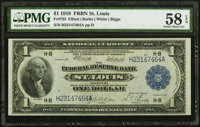 Fr. 733 $1 1918 Federal Reserve Bank Note PMG Choice About Unc 58 EPQ