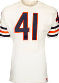 Football Collectibles:Uniforms, 1966-68 Brian Piccolo Game Issued Chicago Bears Jersey. ...