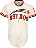 Baseball Collectibles:Uniforms, 1972 Jim Ray Game Worn Houston Astros Jersey....