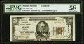 National Bank Notes:Florida, Miami, FL - $50 1929 Ty. 1 The First NB Ch. # 6370 PMG Choice About Unc 58.. ...