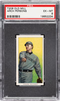Baseball Cards:Singles (Pre-1930), 1909-11 T206 Old Mill Arch Persons PSA EX-MT 6. ...