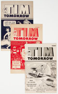Golden Age (1938-1955):Miscellaneous, Tim Tomorrow Promotional Comics Group of 43 (1951-57) Condition: Average FN.... (Total: 43 Comic Books)