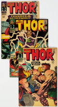 Silver Age (1956-1969):Superhero, Thor Group of 18 (Marvel, 1966-74) Condition: Average VG/FN....(Total: 18 Comic Books)