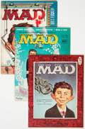 Magazines:Mad, MAD Group Magazine Group of 4 (EC, 1956-60).... (Total: 4 ComicBooks)