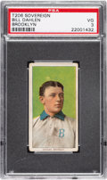 Baseball Cards:Singles (Pre-1930), 1909-11 T206 Sovereign 350 Bill Dahlen (Brooklyn) PSA VG 3. ...