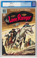 Silver Age (1956-1969):War, Lone Ranger #105 File Copy (Dell, 1957) CGC NM 9.4 Off-white to white pages....