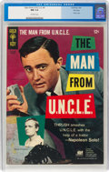Silver Age (1956-1969):Adventure, Man from U.N.C.L.E. #4 File Copy (Gold Key, 1966) CGC NM 9.4 Off-white pages....