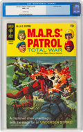 Silver Age (1956-1969):Science Fiction, M.A.R.S. Patrol Total War #8 (Gold Key, 1969) CGC NM+ 9.6 Off-white pages....