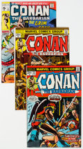 Bronze Age (1970-1979):Adventure, Conan the Barbarian Group of 37 (Marvel, 1970-78) Condition: Average FN/VF.... (Total: 37 )