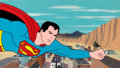 Animation Art:Production Cel, The Superman/Aquaman Hour of Adventure Superboy ProductionCel Setup with Master Painted Background (Filmation, 1967)....