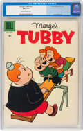 Silver Age (1956-1969):Humor, Marge's Tubby #28 (Dell, 1958) CGC NM- 9.2 Cream to off-white pages....
