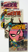 Silver Age (1956-1969):Superhero, Daredevil Group of 7 (Marvel, 1965-67) Condition: Average FN....(Total: 7 )