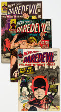 Silver Age (1956-1969):Superhero, Daredevil Group of 10 (Marvel, 1965-67) Condition: Average VG....(Total: 10 )