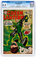 Silver Age (1956-1969):Superhero, Green Lantern #59 (DC, 1968) CGC FN+ 6.5 Off-white pages....