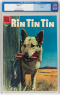 Silver Age (1956-1969):Adventure, Rin Tin Tin #12 File Copy (Dell, 1956) CGC NM 9.4 Off-white to white pages....