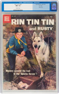 Silver Age (1956-1969):Adventure, Rin Tin Tin and Rusty #22 File Copy (Dell, 1958) CGC NM+ 9.6 Off-white pages....