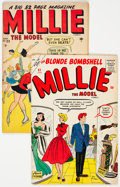 Golden Age (1938-1955):Romance, Millie the Model #23 and 82 Group (Atlas/Marvel, 1950-58)Condition: Average VG.... (Total: 2 Comic Books)