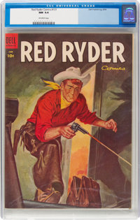 Red Ryder Comics #131 (Dell, 1954) CGC NM 9.4 Off-white pages