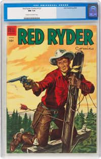 Red Ryder Comics #133 (Dell, 1954) CGC NM 9.4 Cream to off-white pages