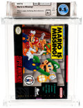 Video Games:Nintendo, Mario is Missing! (SNES, Software Toolworks, 1993) Wata 8.5 A+ (Seal Rating)....