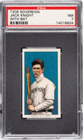 Baseball Cards:Singles (Pre-1930), 1909-11 T206 Sovereign 350 Jack Knight (With Bat) PSA NM 7 - Pop One, None Higher for Brand. ...