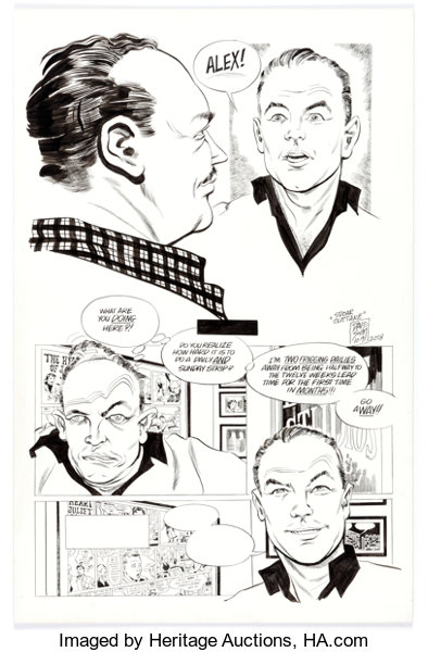 Original Comic Art:Panel Pages, Dave Sim glamourpuss #15 ...