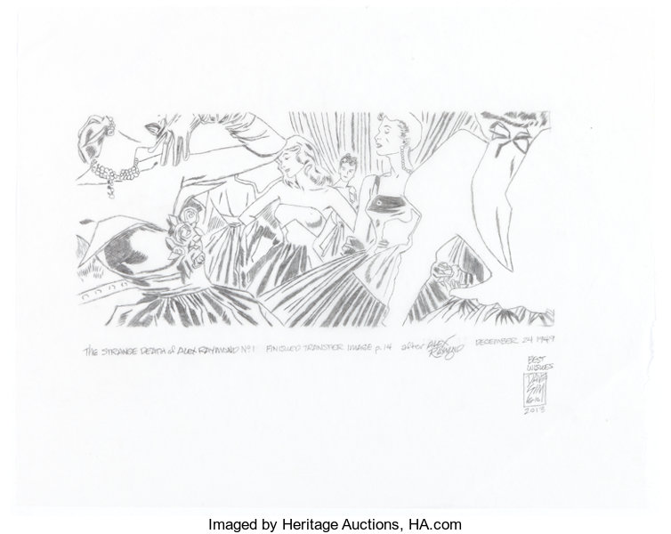 "Original Comic Art:Miscellaneous, Dave Sim ""The Strange Death of Alex Raymond"" Preliminary A..."