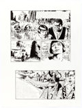 Original Comic Art:Comic Strip Art, Tom Yeates Prince Valiant #4221 Sunday Comic Strip OriginalArt dated 12-31-17 and Episode #3996 Signed Limited Ed... (Total: 2Items)