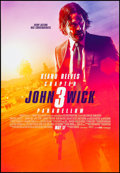 "Movie Posters:Action, John Wick: Chapter 3 - Parabellum (Summit Entertainment, 2019). Rolled, Near Mint. One Sheet (27"" X 39"") DS Advance. Action...."