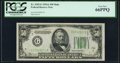 Small Size:Federal Reserve Notes, Fr. 2103-G $50 1934A Mule Federal Reserve Note. PCGS Gem New 66PPQ.. ...