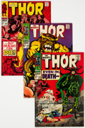 Silver Age (1956-1969):Superhero, Thor Group of 13 (Marvel, 1967-69) Condition: Average FN/VF....(Total: 13 Comic Books)