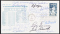 Autographs:Post Cards, 1983 1st All Star Game Multi-Signed First Day Cover (15 Signatures)....