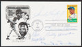 Autographs:Post Cards, 1982 Honoring Jackie Robinson Multi-Signed First Day Cover (5Signatures). ...