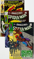 Silver Age (1956-1969):Superhero, The Amazing Spider-Man Group of 22 (Marvel, 1968-78) Condition: Average VF.... (Total: 22 Comic Books)