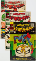 Silver Age (1956-1969):Superhero, The Amazing Spider-Man Group of 38 (Marvel, 1966-75) Condition:Average FN.... (Total: 38 Comic Books)