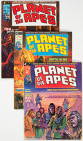Magazines:Science-Fiction, Planet of the Apes #1-18 Group (Marvel, 1974-76) Condition: Average VF/NM.... (Total: 18 )
