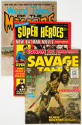 Magazines:Miscellaneous, Assorted Magazines Group of 19 (Various Publishers,1966-85) Condition: Average FN.... (Total: 19 )