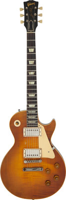 1959 Gibson Les Paul Standard 'Burst' Solid Body Electric Guitar, Serial # 9 1966
