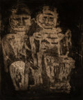 Prints & Multiples:Print, Louise Nevelson (1899-1988). The Royal Family, c. 1953. Etching, aquatint, and drypoint on paper. 24 x 20-1/2 inches (61...