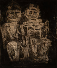 Louise Nevelson (1899-1988) The Royal Family, c. 1953 Etching, aquatint, and drypoint on paper 24