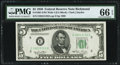 Small Size:Federal Reserve Notes, Fr. 1961-E $5 1950 Wide I Federal Reserve Note. PMG Gem Uncirculated 66 EPQ.. ...