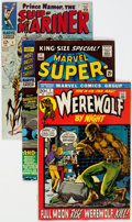 Silver Age (1956-1969):Superhero, Marvel Silver and Bronze Age Key Comics Group of 10 (Marvel,1960s-70s) Condition: Average FN/VF.... (Total: 10 Comic Books)