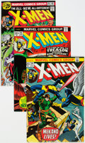 Bronze Age (1970-1979):Superhero, X-Men Group of 5 (Marvel, 1973-76) Condition: Average VF.... (Total: 5 Comic Books)