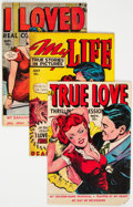 Golden Age (1938-1955):Romance, Golden to Bronze Age Romance Group of 8 (Various Publishers, 1949-71) Condition: Average FN.... (Total: 8 )