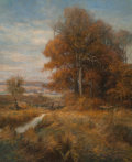 Fine Art - Painting, American, Walter L. Greene (American, 1870-1956). Autumn. Oil oncanvas. 29 x 24 inches (73.7 x 61.0 cm). Si...