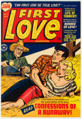 Golden Age (1938-1955):Romance, First Love Illustrated #13 (Harvey, 1951) Condition: NM-....