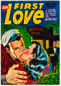 Golden Age (1938-1955):Romance, First Love Illustrated #35 (Harvey, 1953) Condition: NM-....