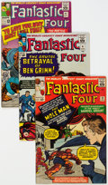 Silver Age (1956-1969):Superhero, Fantastic Four Group of 45 (Marvel, 1964-75) Condition: AverageFN.... (Total: 45 )